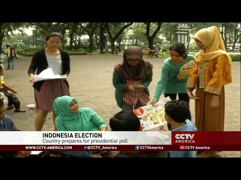 Indonesia prepares for presidential election