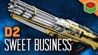 Скачать SWEET BUSINESS COMBO EXOTIC AUTO RIFLE Destiny 2 Gameplay
