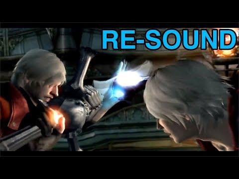 Devil May Cry 4: Special Edition - Dante VS Nero Cutscene [RE-SOUND] |