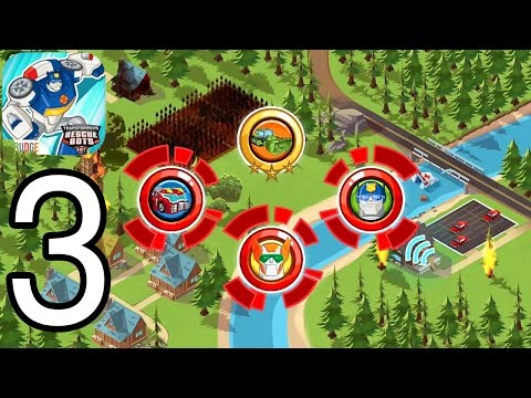 Transformers Rescue Bots - IPhone Gameplay Walkthrough Part 3