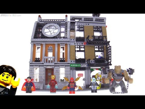 LEGO Avengers Infinity War Sanctum Sanctorum Showdown review! 76108