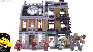 LEGO Avengers Infinity War Sanctum Sanctorum Showdown review! 76108