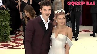 Hailey Baldwin and Shawn Mendes go official at the Met Gala 2018!