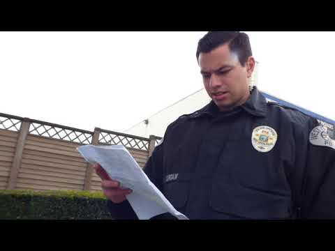 Us Post Office (FLEXING AND EDUCATING) Police Set Employee Straight, W/Furry Potato, 1st Amend Audit