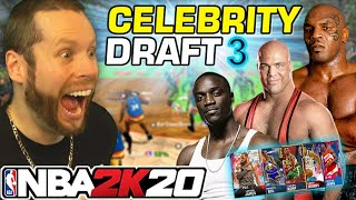 NBA 2K20 Celebrity Draft 3! We got MIKE TYSON!