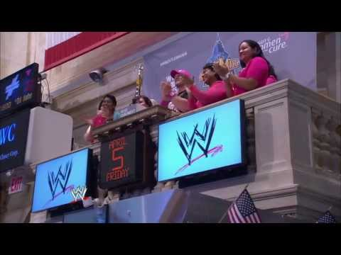 John Cena rings The Closing Bell at the New York Stock Exchange
