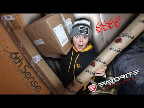 HUGE Tackle And Rod Unboxing!