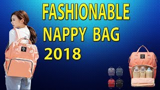 2018 best selling diaper Bag in AliExpress / Ali addict