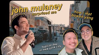 i met bowen yang and john mulaney in new york city