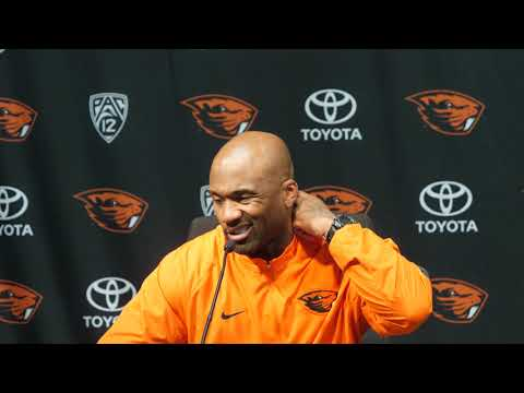 Oregon State Football: Post Game Press Conference vs Arizona State