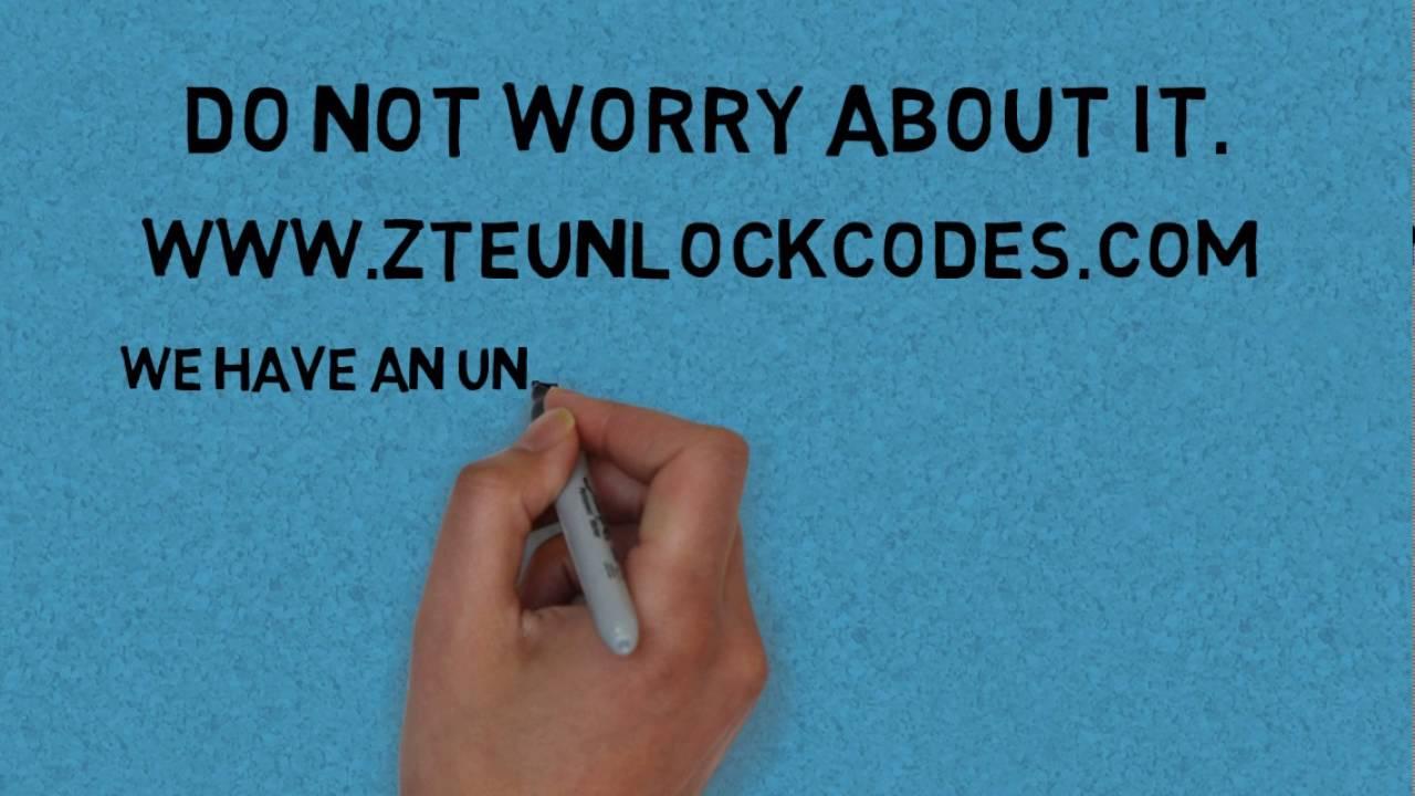 How to unlock AT&T ZTE Z223 - ZTE unlock codes