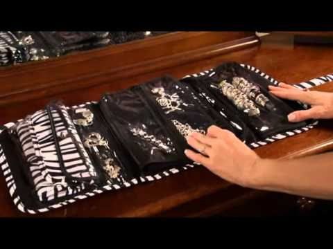 Prezerve 169 Anti Tarnish Jewelry Organizer Youtube