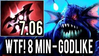 Slardar GOD IS BACK! Miracle- 8 Min Godlike Insane Gameplay 9k MMR Patch 7.06 Dota 2