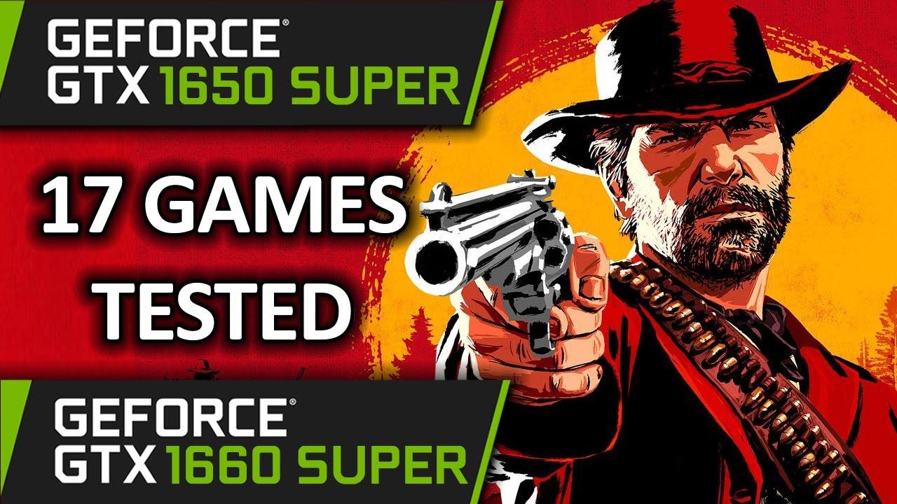 GTX 1650 SUPER vs GTX 1660 SUPER | 17 Games Tested | Mid 2020