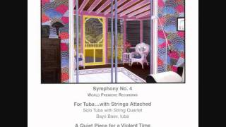 """IRWIN BAZELON (1922-1995): """" For Tuba...with Strings Attached"""" (1982)"""
