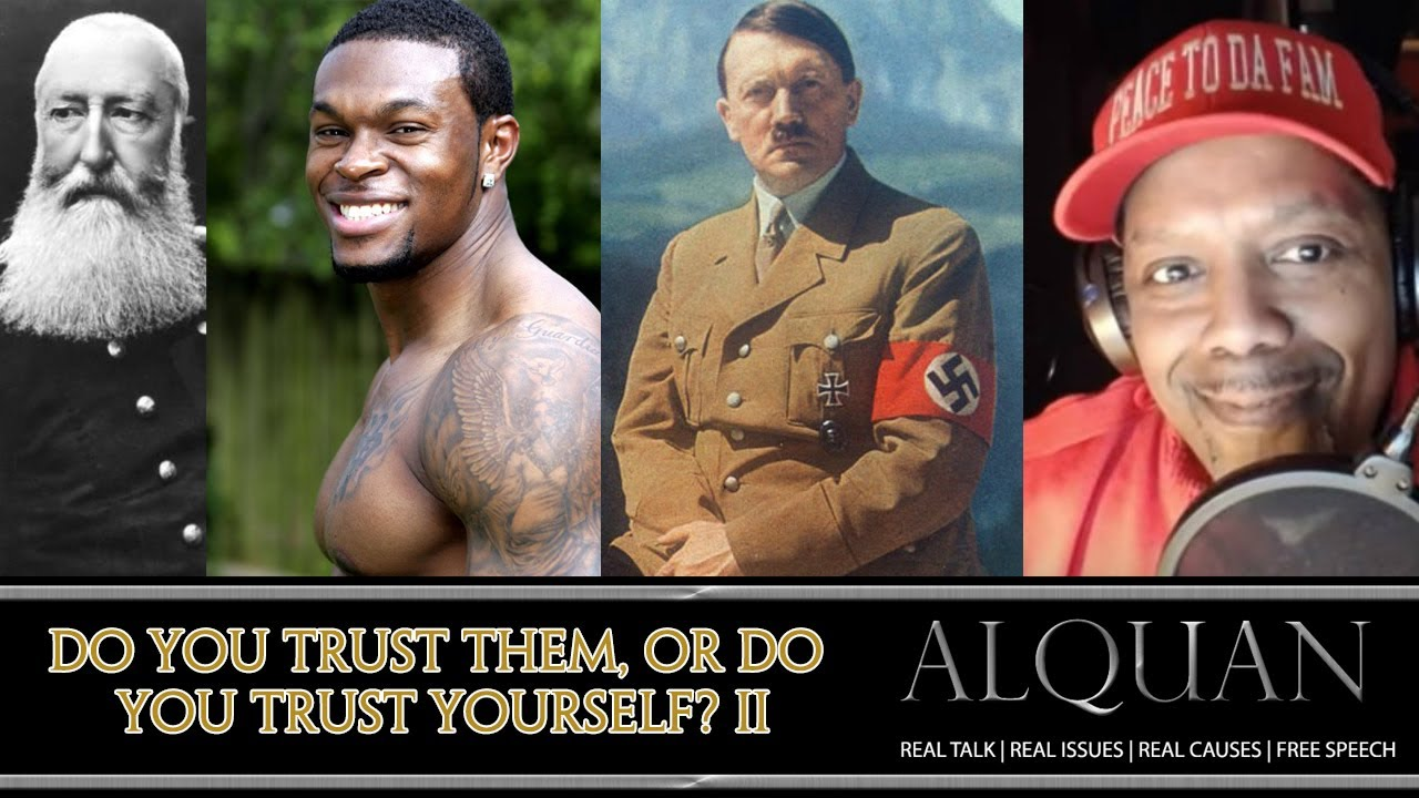 Do you trust them or do you trust yourself?  Pt. II  #NWO