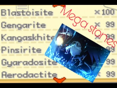Pokemon Gaia All Mega Stone Cheat Codes (100% works)