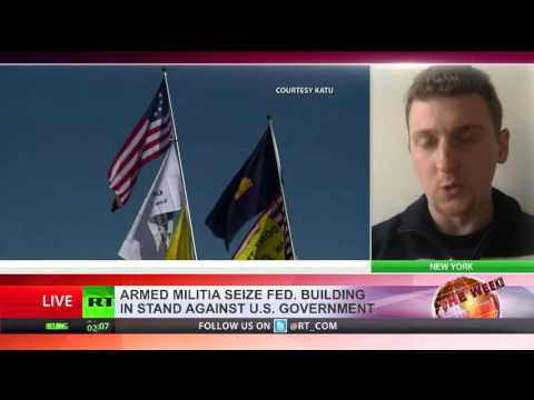 Caleb Maupin interview with RT International on Oregon attack