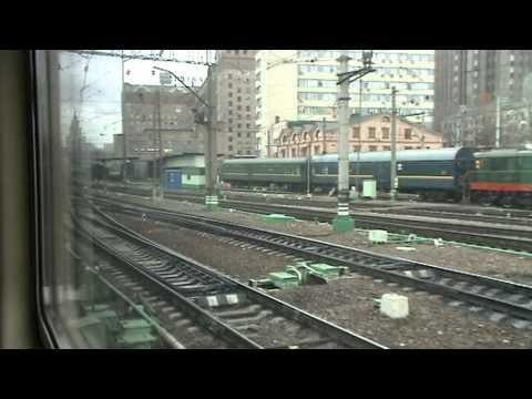 От Казанского вокзала до пл. Электрозаводская на ЭД4М