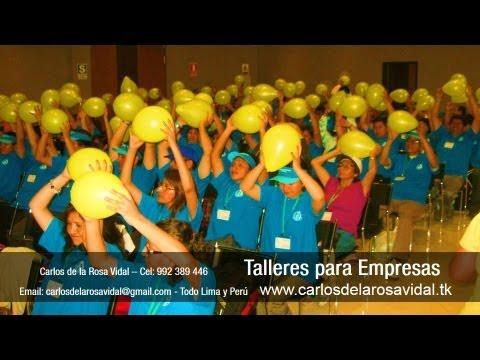 Charlas Motivacionales En Lima Perú Full Dinámicas Para Empresas