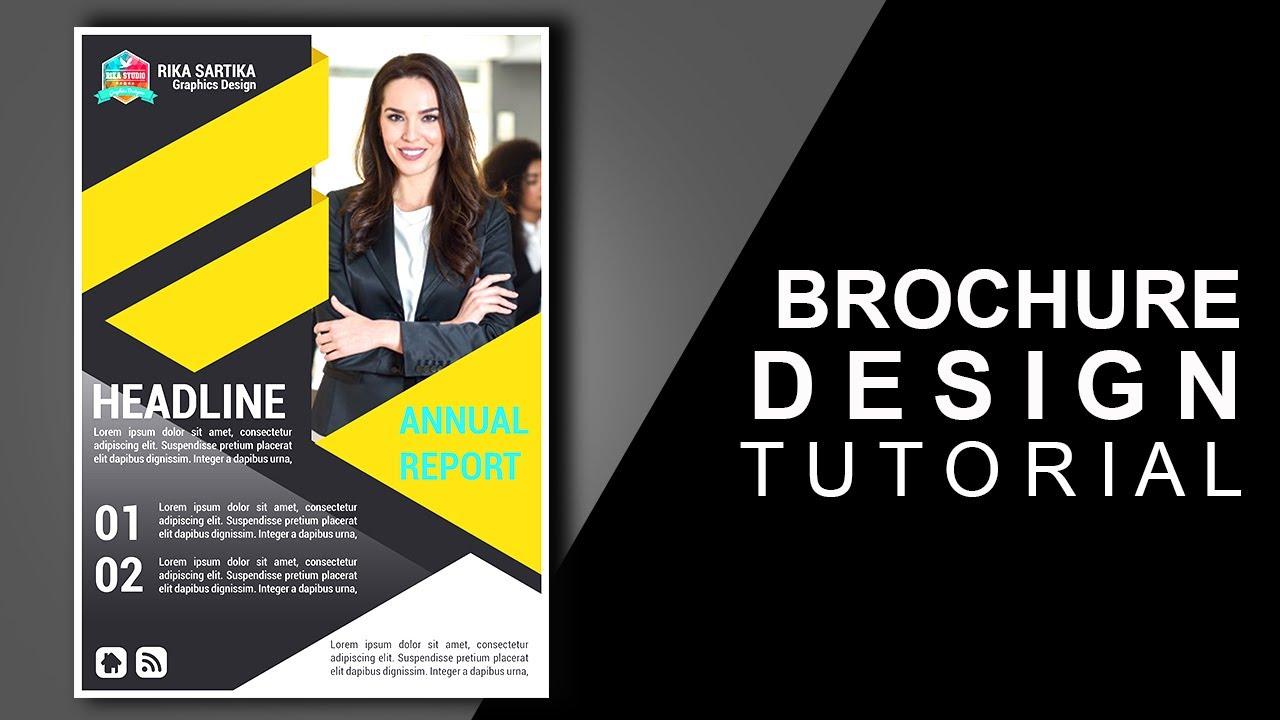 Cara Membuat Brosur Mudah - Kelas Desain | Belajar Desain ...