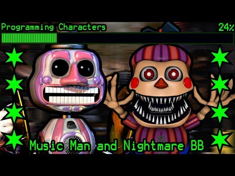 How will Music Man and Nightmare BB work in Ultimate Custom Night?