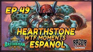 MEJORES MOMENTOS HEARTHSTONE ESPAÑOL | Episodio 49