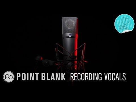 Electronic Music Composition #9: Recording a Live Vocalist