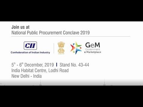 Matrix Comsec at National Public Procurement Conclave - New Delhi   5th - 6th December, 2019