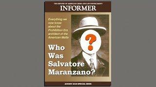 Why Maranzano? Why now?