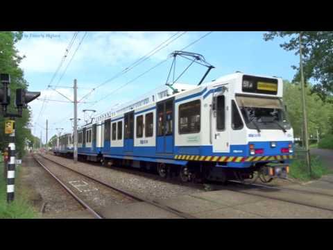 Hybrid Metro/Tram in Amsterdam, Netherlands - Sneltramlijn #51: 2017