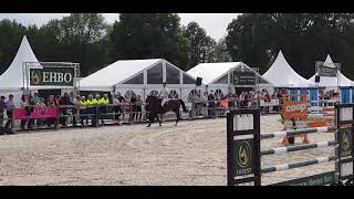 Gypsy 2th place 1.40m Grand prix Eext Barage