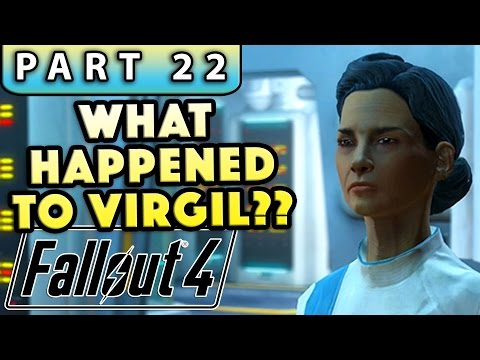 FALLOUT 4 Gameplay Walkthrough Part 22 - INVESTIGATE VIRGIL'S EXPERIMENT