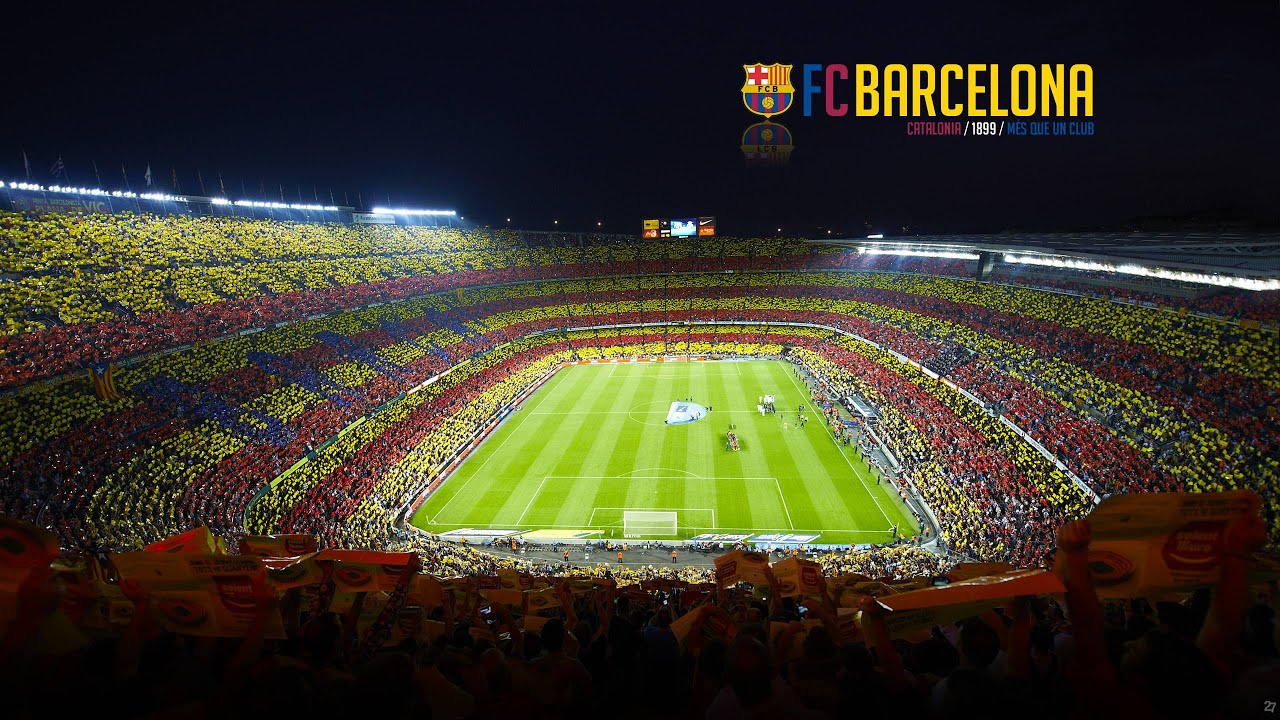Fc barcelona stadium tour 2016 camp nou stadium tour - Camp nou 4k wallpaper ...