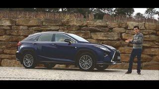 Тест драйв всех трех версий нового LEXUS RX в Португалии