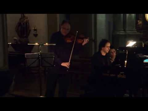 Vadim Tchijik & Alberto Urroz play Dvorak Sonatine