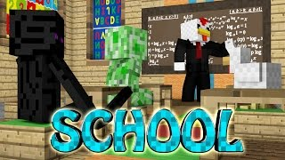 Minecraft | MINECRAFT SCHOOL MOD Showcase! (School Trip, Classes, Knowledge Mod)