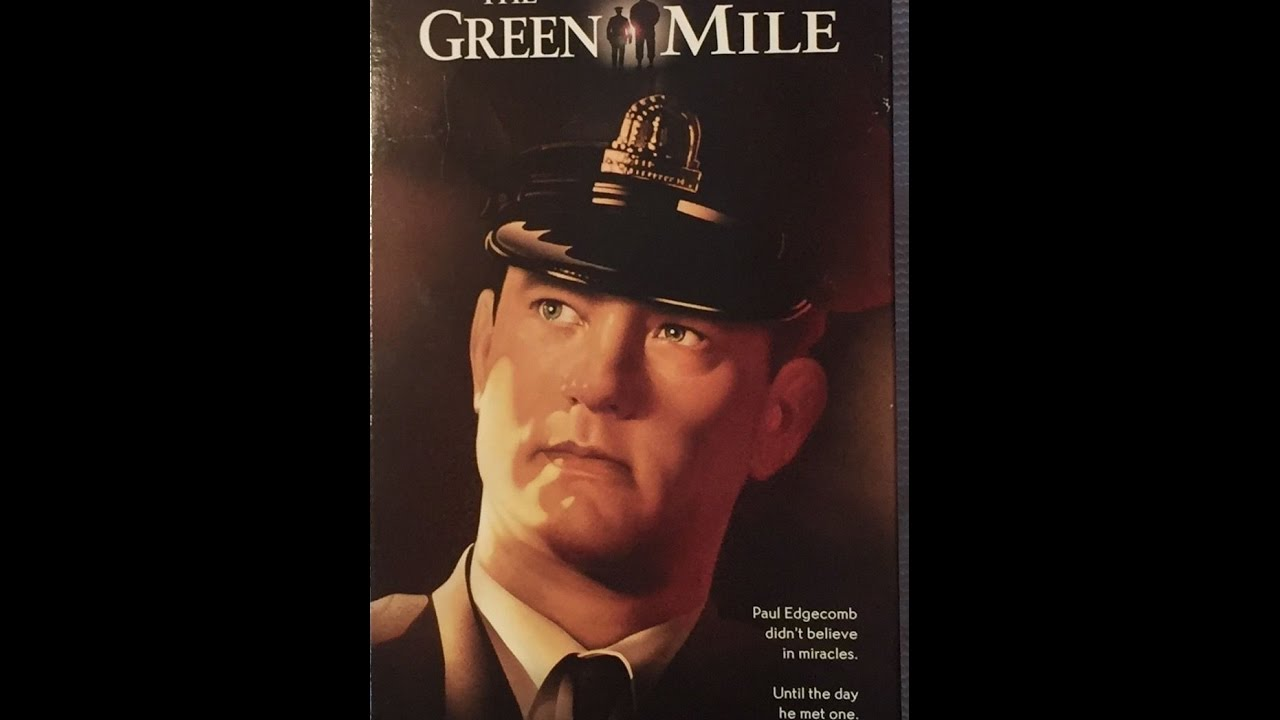 opening to the green mile 1999 2000 vhs tape 1 and with