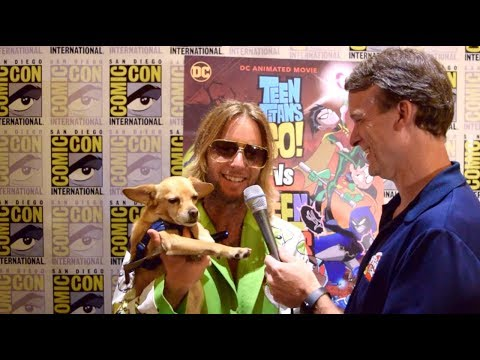 Greg Cipes Interview For Teen Titans Go! Vs Teen Titans At SDCC