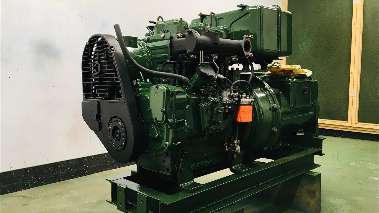 Lombardini Diesel 3 phase Generator Repair Restoration