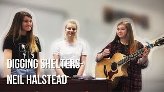 Digging Shelters- Neil Halstead (Effervescent Cover)