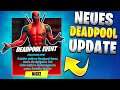 Neues Fortnite Update 😍 Neue Deadpool Items, Skins, Leaks, Patch Notes Im Livestream