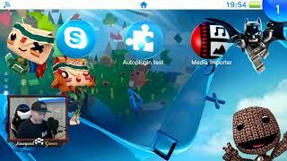 Peliculas Y videos en PSVITA Desde el gestor OFICIAL por USB
