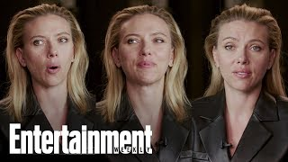Scarlett Johansson Looks Back On 10 Years Of Black Widow | Entertainment Weekly
