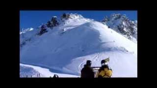 видео Лез Арк - горнолыжный курорт во Франции