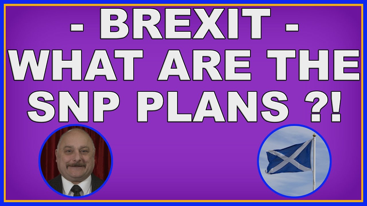Brexit: what are the SNP plans! (4k)