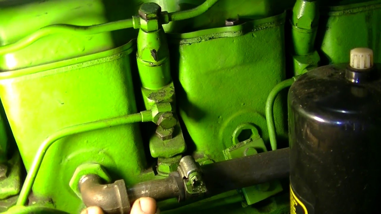 John Deere 4020 Cooling System Zeketheantiquefreak Youtube Wiring Diagram Fuel Guage