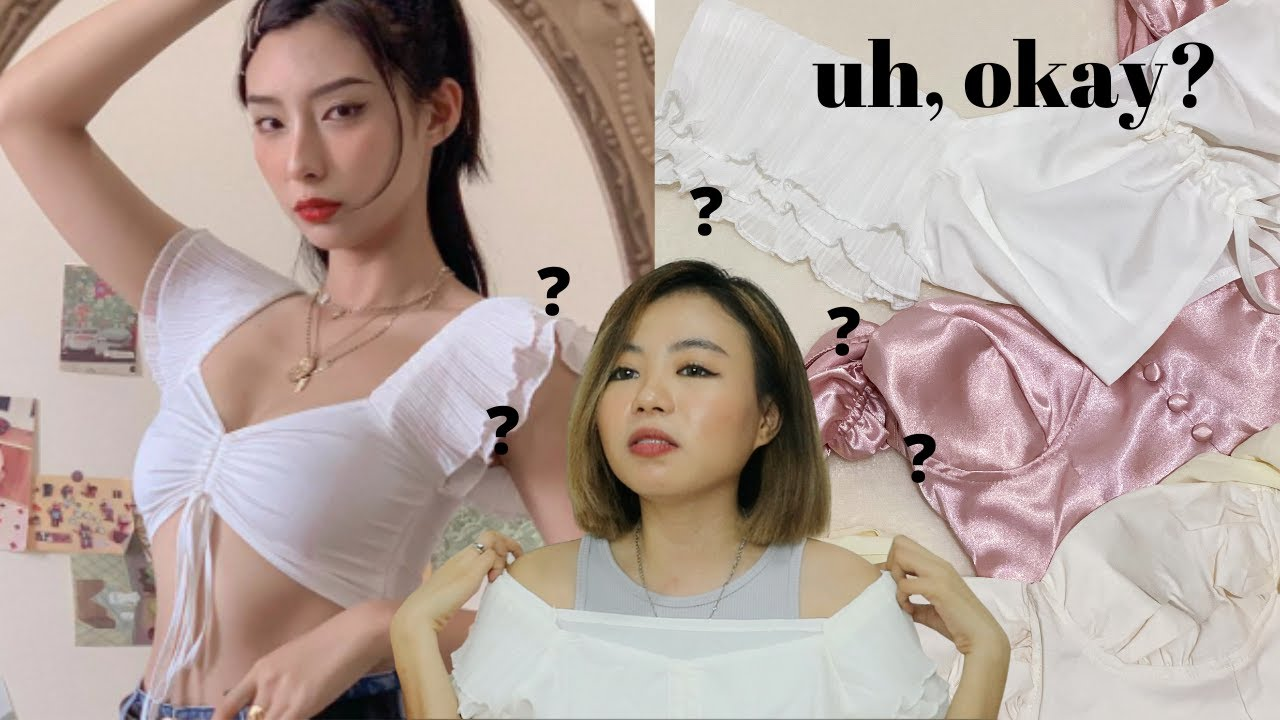 SHOPEE EXPECTATION VS. REALITY (vintage tops, corsets, crop tops & more!)