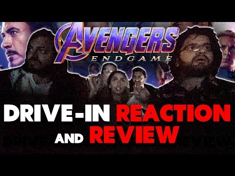 Avengers: Endgame - Drive-In Movie Theater Reaction and Review! (SPOILERS)