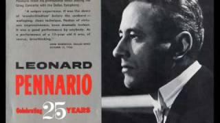 FREDERIC CHOPIN: LEONARD PENNARIO / Waltz No.14 in E minor, Op. Posthumous